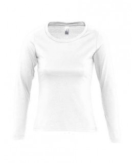 Camiseta manga larga blanca