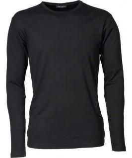 Camiseta interlock negra