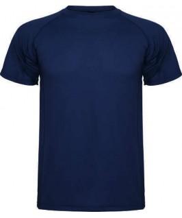 Camiseta técnica azul marino