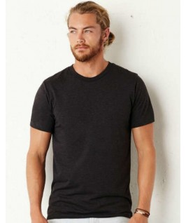 Camiseta triblend gris oscuro