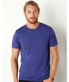 Camiseta triblend azul marino