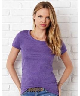 Camiseta triblend lila