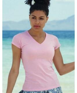 Camiseta rosa suave