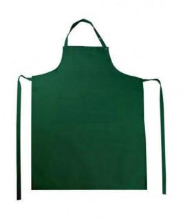 Delantal Peto con bolsillo verde botella