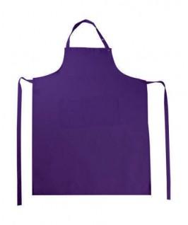Delantal Peto con bolsillo lila