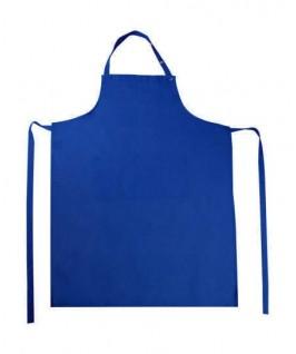 Delantal Peto con bolsillo azul eléctrico
