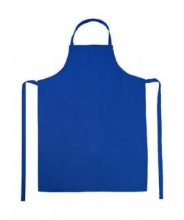 Delantal peto azul eléctrico
