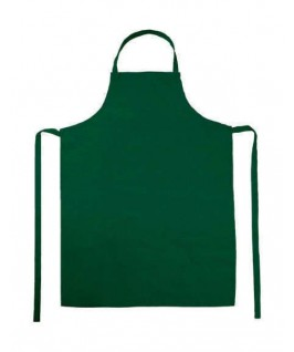 Delantal peto verde botella