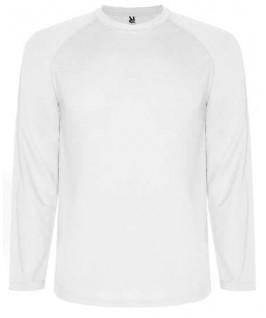 Camiseta técnica manga larga blanca