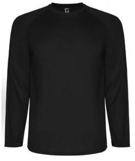 Camiseta técnica manga larga negro