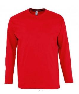 Camiseta manga larga roja
