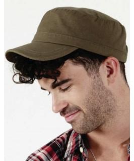 Gorra militar caqui