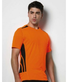 Camiseta training naranja fluorescente