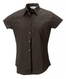 Camisa marrón chocolate