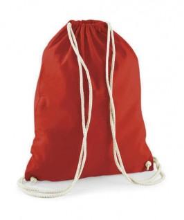 Bolsa / Mochila algodón rojo