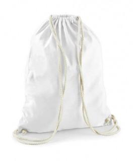 Bolsa / Mochila algodón blanco
