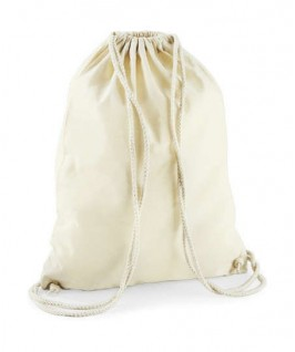 Bolsa / Mochila algodón crudo