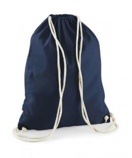 Bolsa / Mochila algodón azul marino