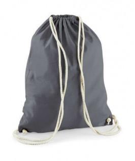 Bolsa / Mochila algodón gris oscuro