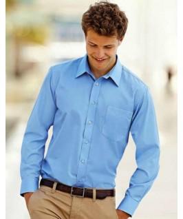 Camisa manga larga azul cielo