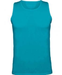 Camiseta técnica turquesa