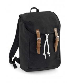 Mochila Vintage Rucksack negro