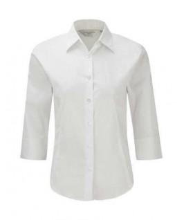 Camisa manga 3/4 blanca