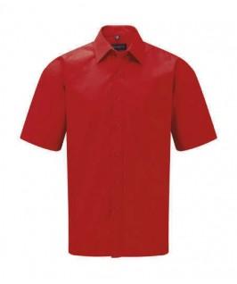 Camisa manga corta roja