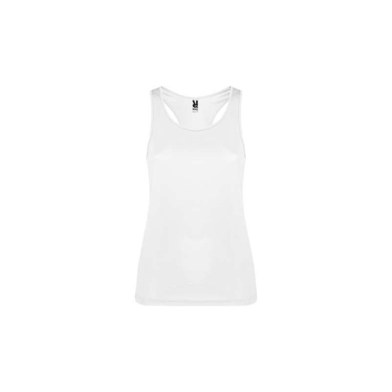 Camiseta técnica tirantes blanca