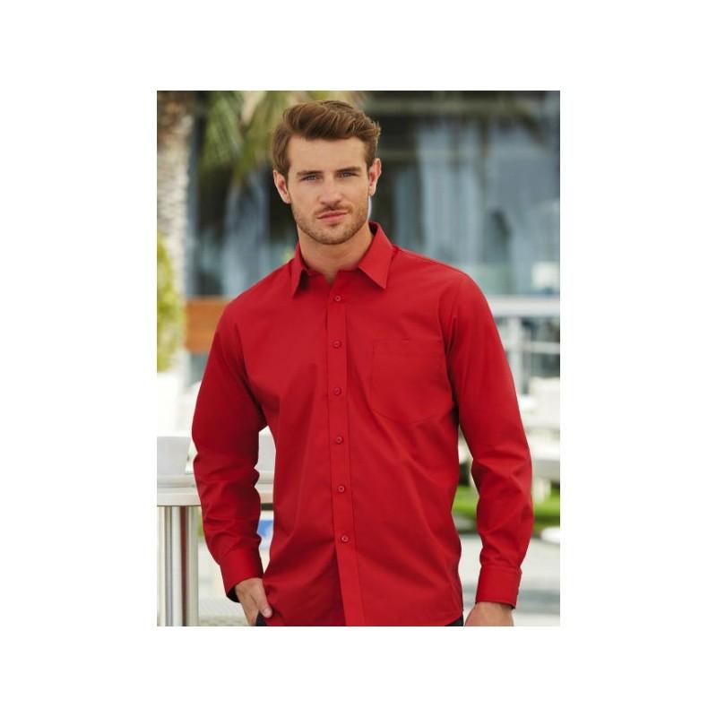 Camisa manga larga roja