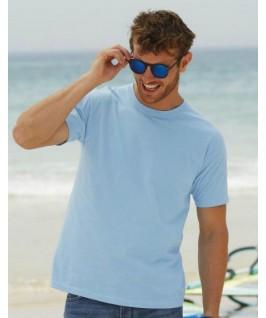 Camiseta manga corta azul cielo
