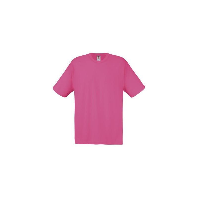 Camiseta manga corta fucsia