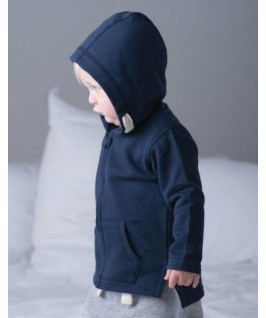 Sudadera con capucha azul marino