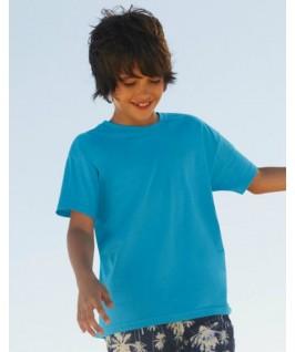 Camiseta manga corta azul pitufo