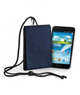 Funda mobil azul marino