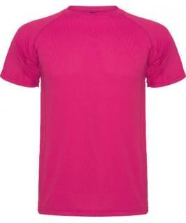 Camiseta técnica fucsia