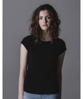 Camiseta rock & roll negra