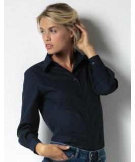 Camisa manga larga azul marino