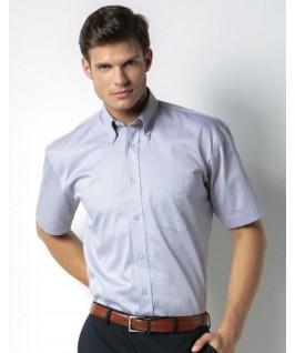 Camisa manga corta gris claro