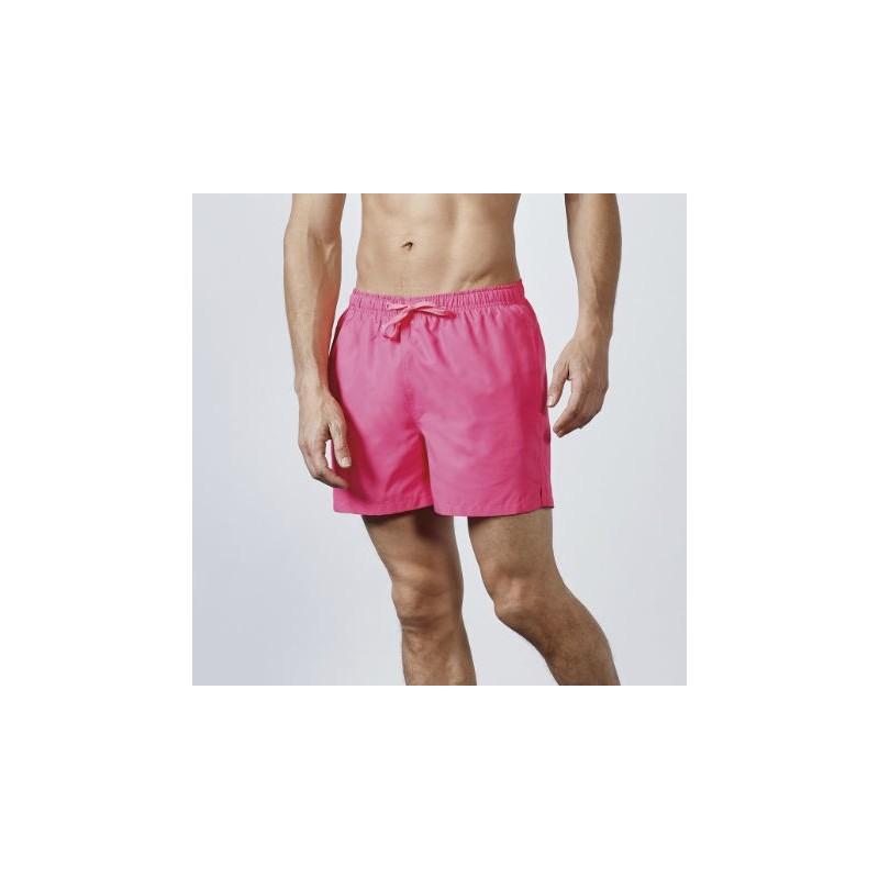 Bañador aqua rosa fluor
