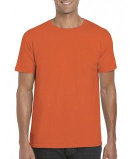 Camiseta manga corta naranja