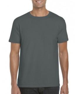 Camiseta manga corta gris oscuro