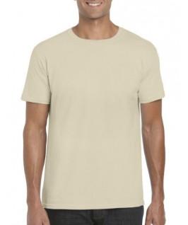 Camiseta manga corta marrón arena