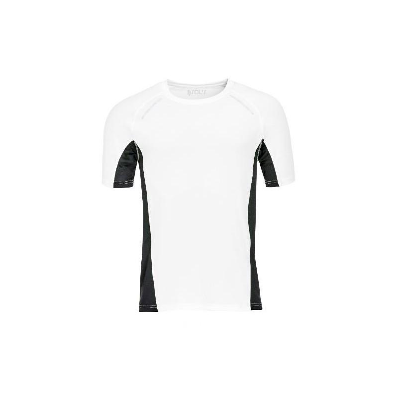 Camiseta running blanca
