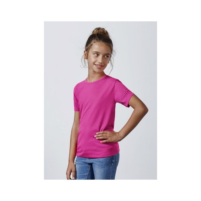 Camiseta rosa fluorescente