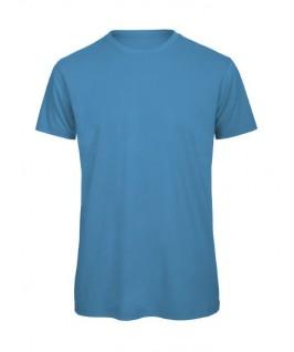 Camiseta orgánica azul pitufo