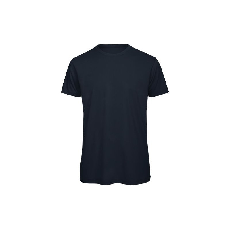 Camiseta orgánica azul marino