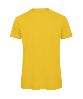Camiseta orgánica amarillo oro