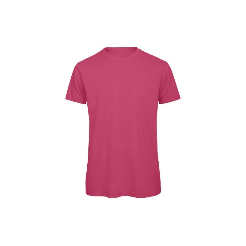 Camiseta orgánica fucsia