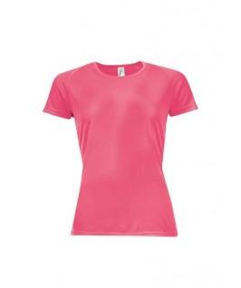 Camiseta técnica coral